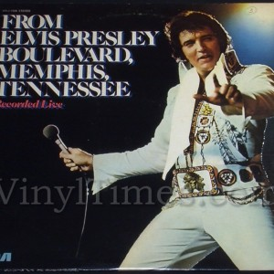 "Elvis Presley ""From Elvis Presley Blvd, Memphis, Tennessee"" Vinyl LP Record Album"