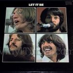 "Beatles ""Let It Be"" Vinyl LP Record Album"
