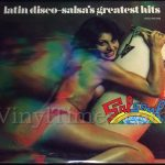 "Latin Disco ""Salsa's Greatest Hits"" Vinyl LP Record Album"