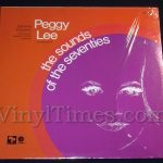 """125 Peggy Lee """"The Sounds Of The Seventies"""" Vinyl LP Record Album"""