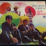 """139 Sergio Mendes & Brasil '66 """"Look Around"""" Vinyl LP Record Album"""