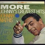"146 Johnny Mathis ""More Greatest Hits"" Vinyl LP Record Album"