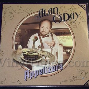 "157 Alan O'Day ""Appetizers"" Vinyl LP Record Album"