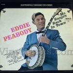 "160 Eddie Peabody ""Mr. Peabody's Back In Town"" Vinyl LP Record Album"