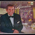 """184 Carmen Cavallaro """"Remembers Eddie Duchin"""" Vinyl LP Record Album"""