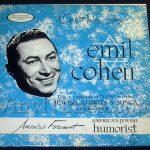 "187 Emil Cohen ""Jewish Stories and Songs"" Vinyl LP Record Album"