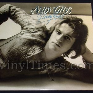 "194 Andy Gibb ""Flowing Rivers"" Vinyl LP Record Album"