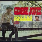 "233 George Jones ""Sings The Songs Of Dallas Frazier"" Vinyl LP Record Album"