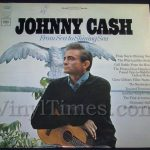 "235 Johnny Cash ""From Sea To Shing Sea"" Vinyl LP Record Album"