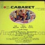 """249 Broadway """"Cabaret"""" Vinyl LP Record Album"""