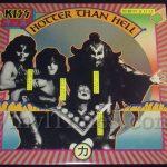 "253 Kiss ""Hotter Than Hell"" Vinyl LP Record Album"