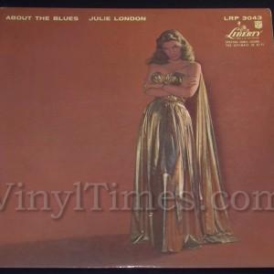 """269 Julie London """"About The Blues"""" Vinyl LP Record Album"""