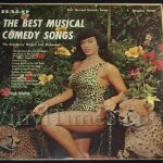 "271 Bettie Page cover ""Best Musical Comedy Songs"" Vinyl LP Record Album"