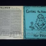 "292 Hap Palmer ""Getting To Know Myself"" Vinyl LP Record Album gatefold cover outside"