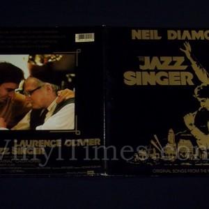 """317 Neil Diamond """"The Jazz Singer"""" Vinyl LP Record Album gatefold cover outside"""