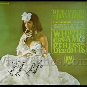 "Dolores Erickson ""Whipped Cream"" Cover"