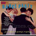 """343 Perez Prado - """"Dance Party"""" Vinyl LP Record Album"""