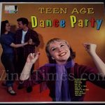 "344 ""Teen Age Dance Party"" Vinyl LP Record Album"