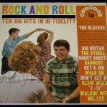 "346 Blazers - ""Rock & Roll Ten Big Hits"" Vinyl LP Record Album"