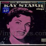 "350 Kay Starr - ""Kay Starr Sings"" Vinyl LP Record Album"