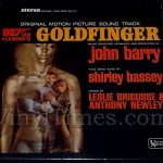 "360 Soundtrack - ""Goldfinger"" Vinyl LP Record Album"