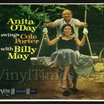 "369 Anita O'Day - ""Swings Cole Porter with Billy May"" Vinyl LP Record Album"