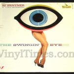 "381 Si Zentner - ""The Swingin' Eye"" Vinyl LP Record Album"