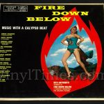 "384 Various - ""Fire Down Below"" Vinyl LP Record Album with Rita Hayworth cover"