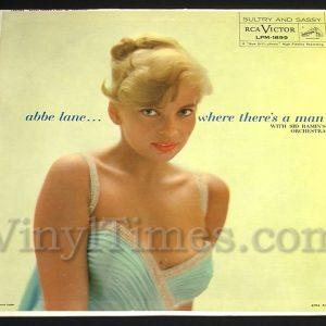 "392 Abbe Lane - ""Where There's A Man"" Vinyl LP Record Album"