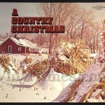 "399 Various - ""A Country Christmas"" Vinyl LP Record Album"