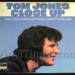 "404 Tom Jones - ""Close Up"" Vinyl LP Record Album"