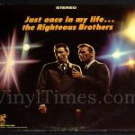 "406 Righteous Brothers - ""Just Once In My Life"" Vinyl LP Record Album"