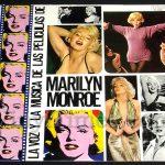 """425 Marilyn Monroe - """"La Voz Y La Musica De Las Peliculas De"""" Vinyl LP Record Album"""
