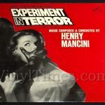 "428 Henry Mancini - ""Experiment In Terror"" Vinyl LP Record Album"