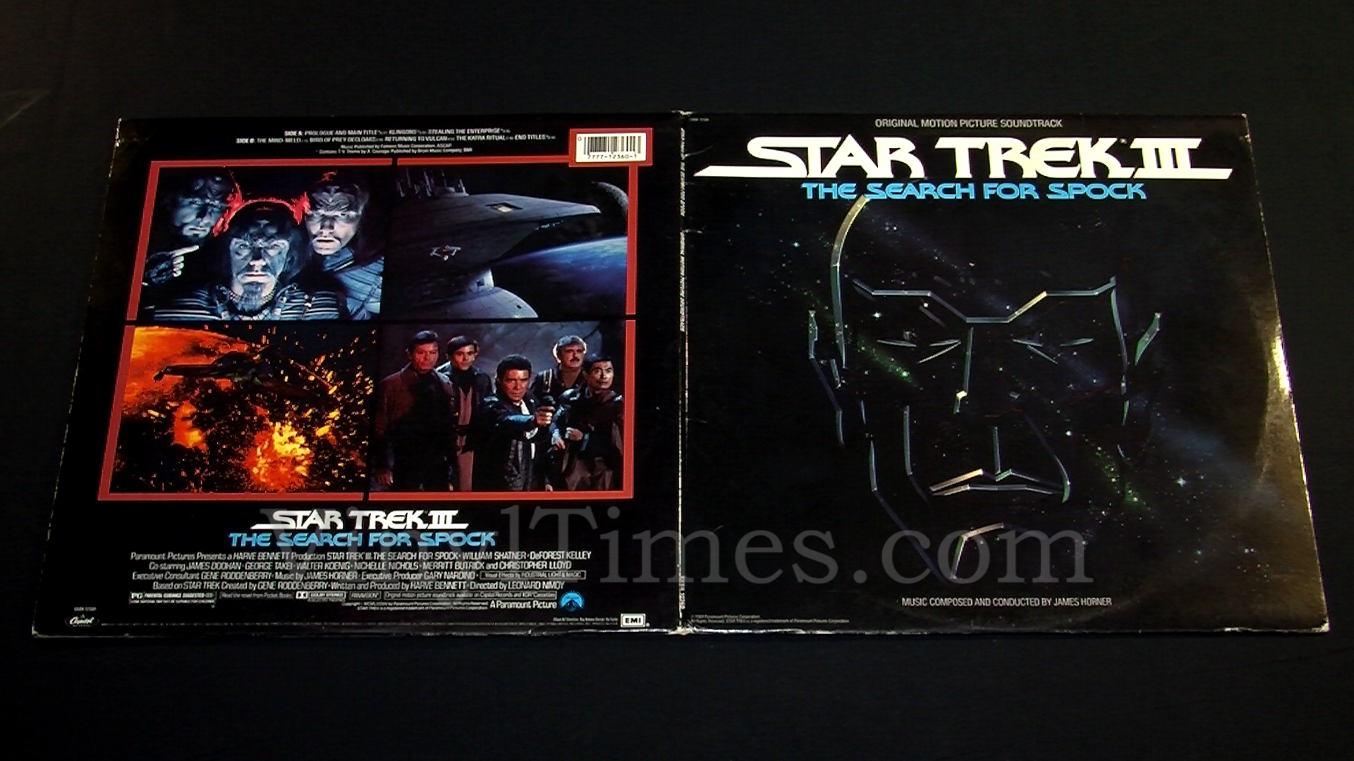 Soundtrack Quot Star Trek Iii The Search For Spock Quot Vinyl Lp