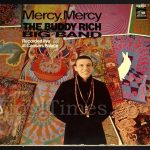"Buddy Rich Big Band - ""Mercy, Mercy"" Vinyl LP Record Album gatefold cover"