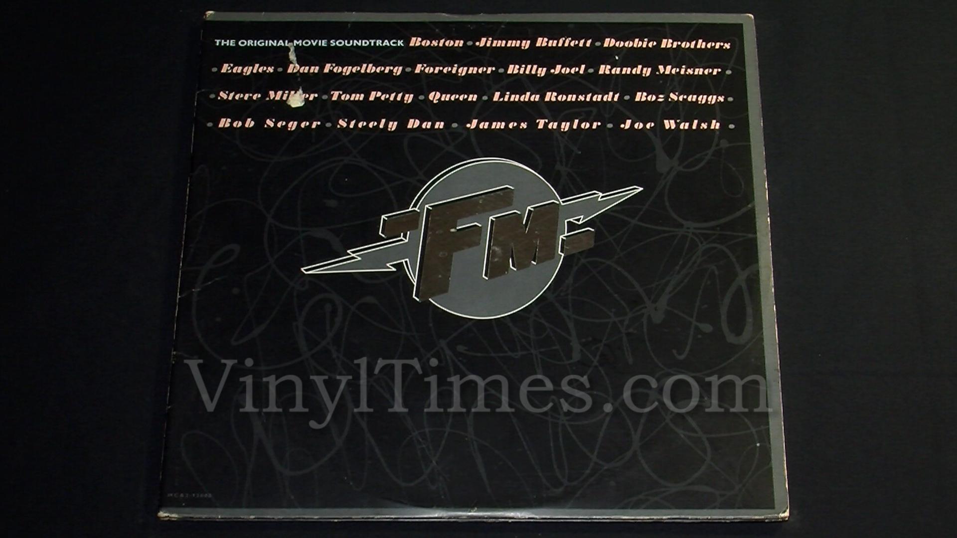 """Soundtrack - """"FM"""" Vinyl LP Record Album gatefold cover"""