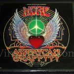 "Soundtrack - ""More American Graffiti"" Vinyl LP Record Album gatefold cover"