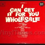 "Broadway - ""I Can Get It For You Wholesale"" Vinyl LP Record Album gatefold cover"