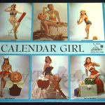 "Julie London - ""Calendar Girl"" Vinyl LP Record Album gatefold cover"