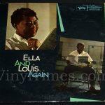 "Ella Fitzgerald - ""Ella and Louis Again"" Vinyl LP Record Album gatefold cover"