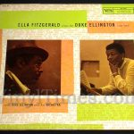 "Ella Fitzgerald - ""Sings The Duke Ellington Songbook"" Vinyl LP Record Album gatefold cover"