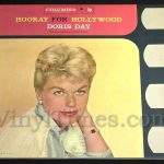 "Doris Day - ""Hooray For Hollywood"" Vinyl LP Record Album gatefold cover"