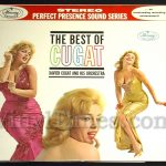"Xavier Cugat - ""The Best Of Cugat"" Vinyl LP Record Album gatefold cover"