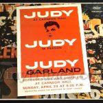 "Judy Garland - ""At Carnegie Hall"" Vinyl LP Record Album gatefold cover"