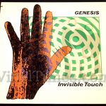 "Genesis - ""Invisible Touch"" Vinyl LP Record Album"