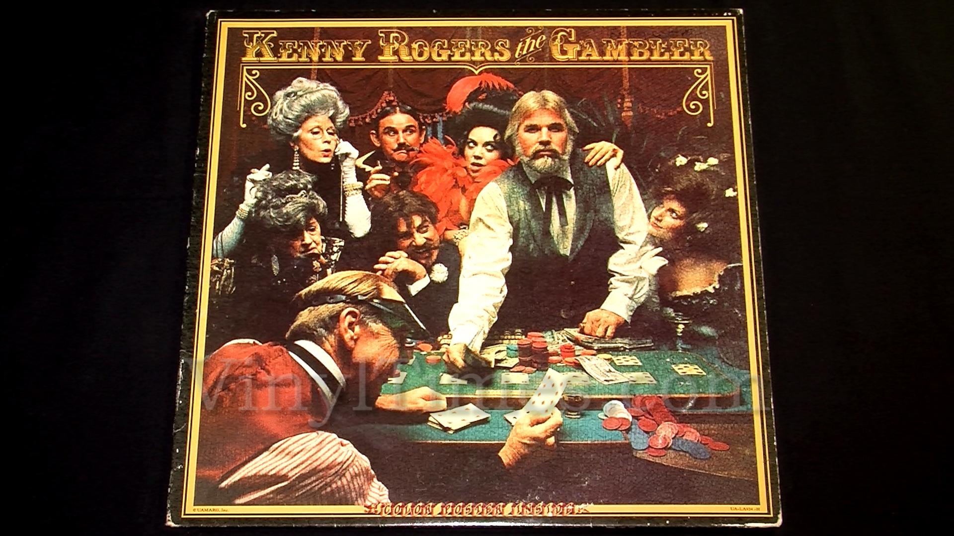 """Kenny Rogers """"the Gambler"""" Vinyl LP - VinylTimesVinylTimes"""